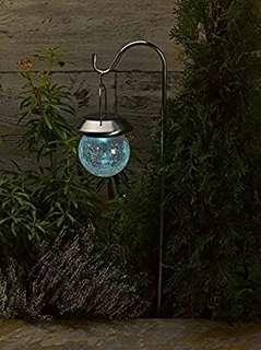 Crackle Globe Lantern Lamp
