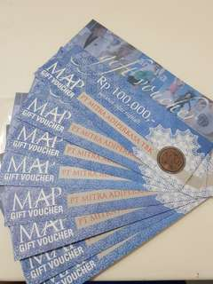 Payday Sale Voucher MAP 100rb Stok Banyak