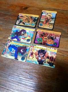 Rare Local Street Fighter 2 Cards Set