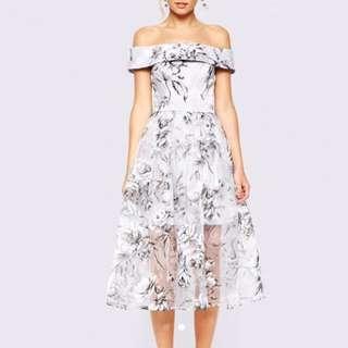Mark down!! Floral Off Shoulder Dress