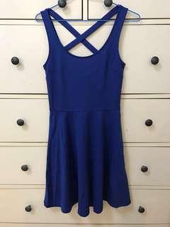 🚚 H&M 寶藍色小洋裝 #畢業兩百元出清