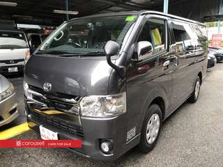 Toyota Hiace Super GL Dark Prime