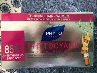 Phyto women hair thinning serum