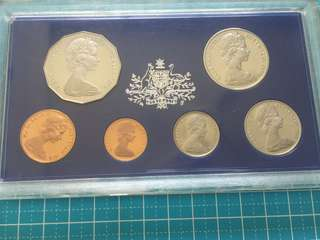 Australia Proof Coin Set 1978