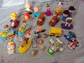 Take all Assorted Mcdo & Jollibee Toys sf included w/in metro manila