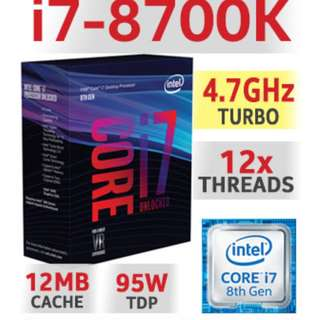 i7 8700K Bundle Sale