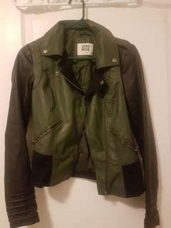 Vero Moda Leather Jacket XS