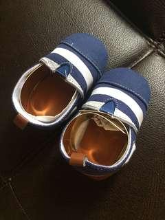 Sepatu bayi size 6-12m new ya import china