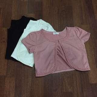 3-in-1 Bundle Short Sleeve Bolero