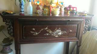 Antiques High Table