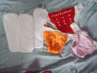 Take all Wash Cloth Diapers sf included w/in metro manila