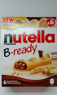 😛歐洲購入-Nutella 朱古力脆餅