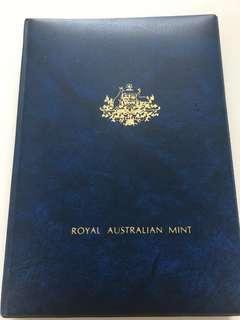 Royal Australian Mint Proof Coin Set Year 1982