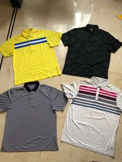 Nike Golf Polo Shirt Man & others - size L to XL