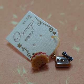日本 Osewaya 原宿風餅乾樹脂耳環
