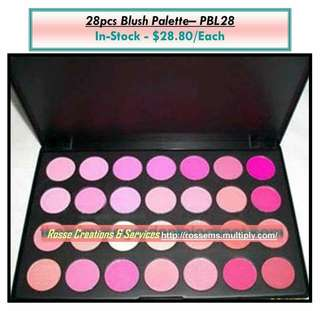 28 Colors Make-up Palette Last Set to Clear!