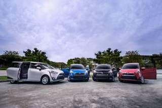 Toyota Sienta 1.5G Hybrid