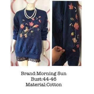 Morning sun Sweatshirt plus size
