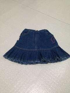 Mini skirt for baby girl
