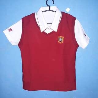 San Beda College Alabang Senior High School Uniform (Complete Set)