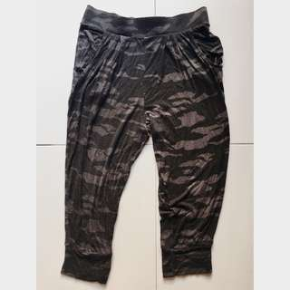 [wts] camouflage army black grey sweatpants