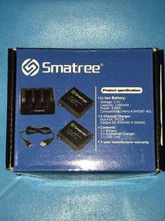 Smatree External GoPro 4 Battery Charger