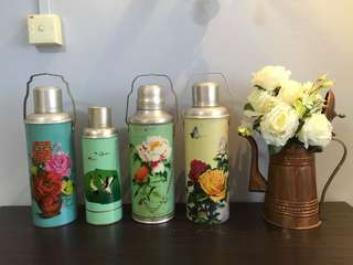 Vintage Thermos Flasks