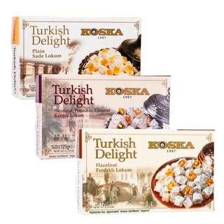 🚚 土耳其進口koska軟糖(原味、夾心榛果)