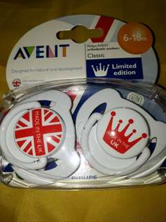 Avent Limited Edition Pacifiers