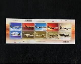 Singapore Local Postage - Aviation Series (2003)