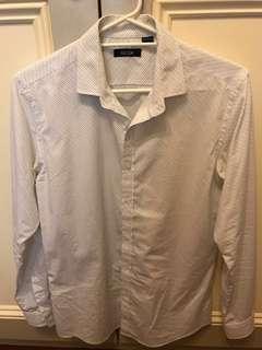 RDX white patterned shirt