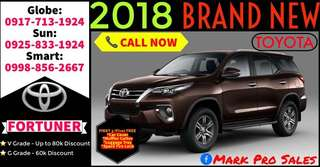 2018 Toyota Fortuner New All-In 85k DP Only G DSL AT Sale Promo