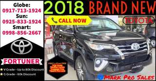 95k DP Only 2018 Toyota Fortuner V DSL 2.4L AT All-In Promo Best Deal