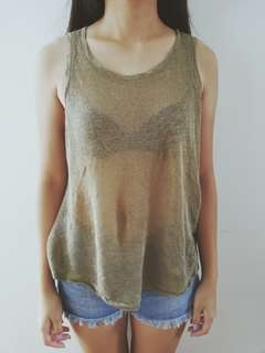 ✨ SALE ✨ Gold Top