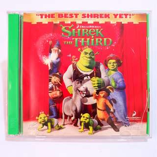 Shrek The Third VCD