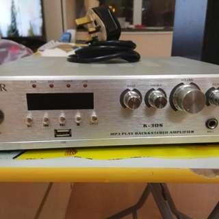 Super K-30S擴音機、連一對Monark 喇叭