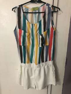 Stripes romper