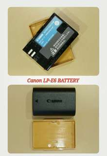Canon Battery LP-E6
