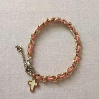 Accessorize Cross bracelet