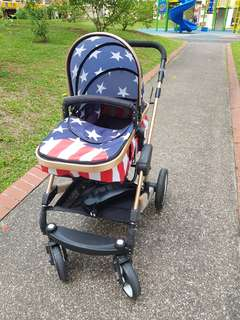 Baby stroller - limited edition american