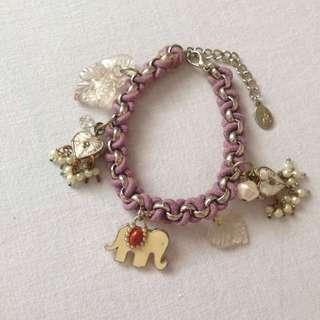 Accessorize elephant bracelet