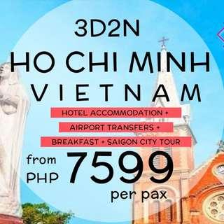 3D2N Ho Chi Minh Vietnam