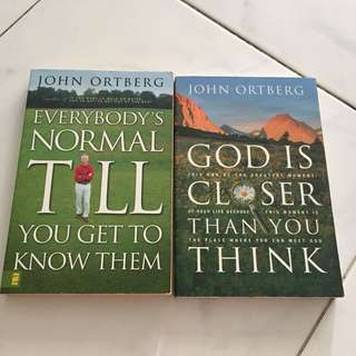 Christian books by John Ortberg