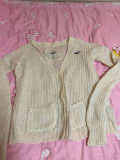 Authentic Hollister Knitted Cardigan