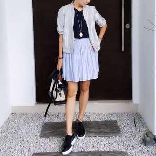 Zara Elastic Waistband Skirt