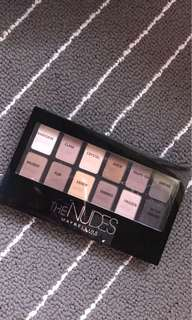 The nudes eyeshadow palette Maybelline