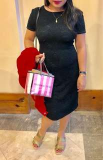 Karimadon black lace dress