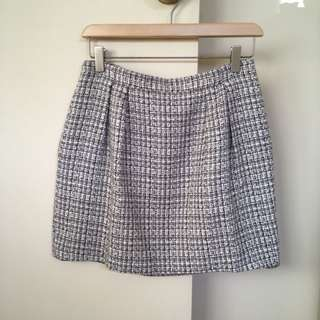 Club Monaco Tweed Miniskirt