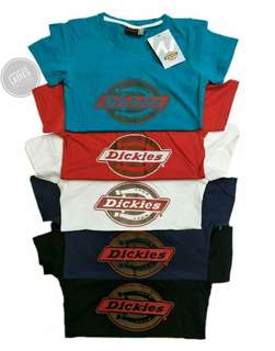 DICKIES BRANDED OVERRUNS TEES FOR HER
