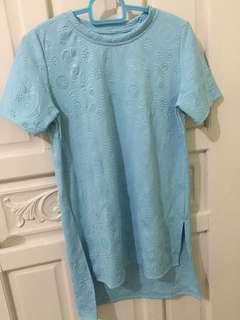 Light blue ladies tshirt